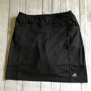 Adidas Women's Range Wear Golf Skort Skirt Black